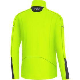 GORE WEAR M Veste thermique à manches longues avec zip Homme, neon yellow/black
